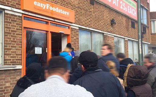 easyFoodstore Store Closed